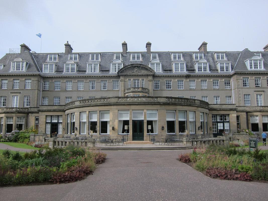 Gleneagles Hotel Scottish Travel Photographer